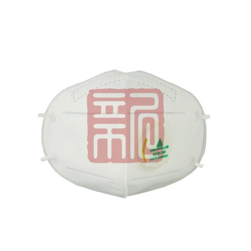 代尔塔104012 家庭装带阀防尘口罩封面