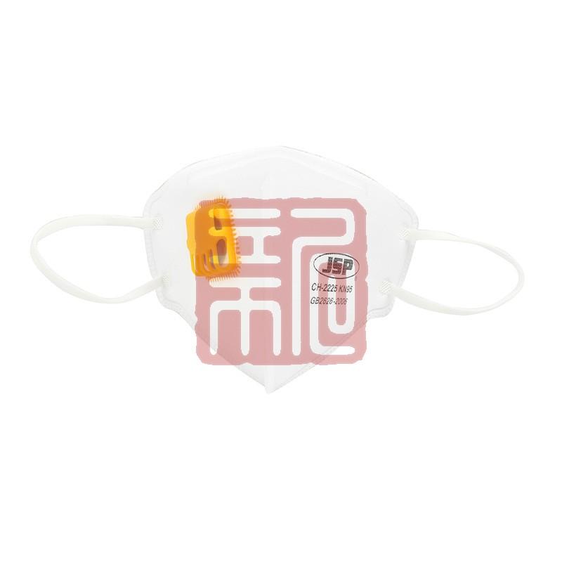 洁适比04-22227 CH-2225V头戴式带阀防尘口罩封面