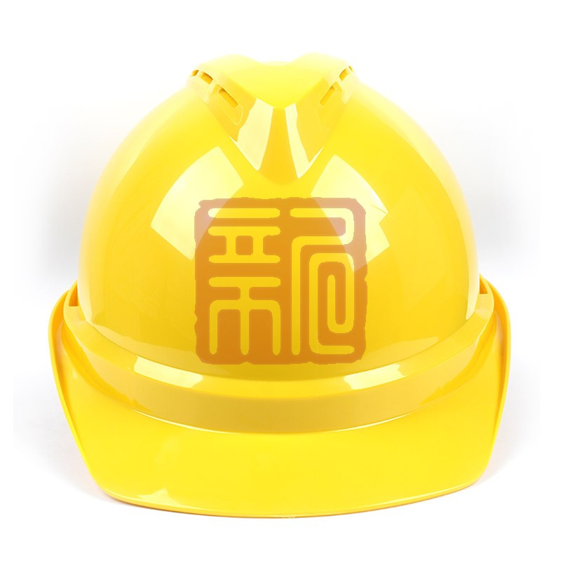 梅思安 10108994 豪华ABS黄色安全帽轻旋风帽衬针织布吸汗带D型下颌带封面