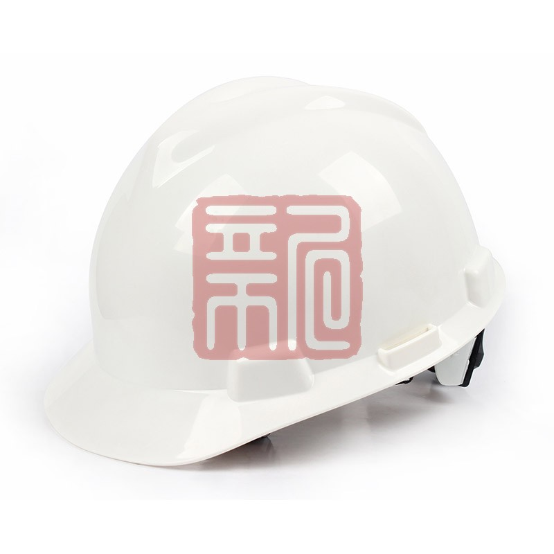 梅思安 9121418标准型ABS白色安全帽轻旋风帽衬针织布吸汗带D型下颌带封面