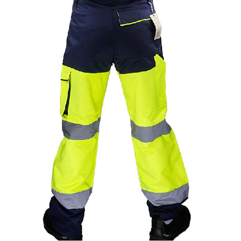 代尔塔 404013 PHPAN荧光工装裤 M