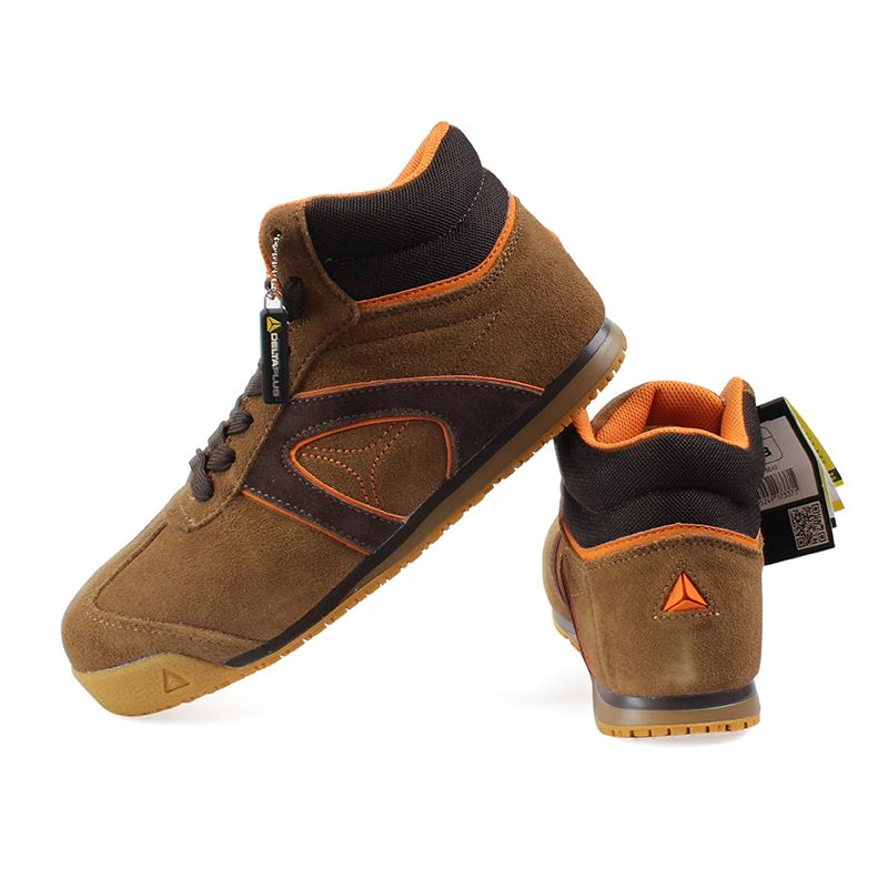 代尔塔301343 D-STAR SUEDE S1P翻毛皮安全鞋36