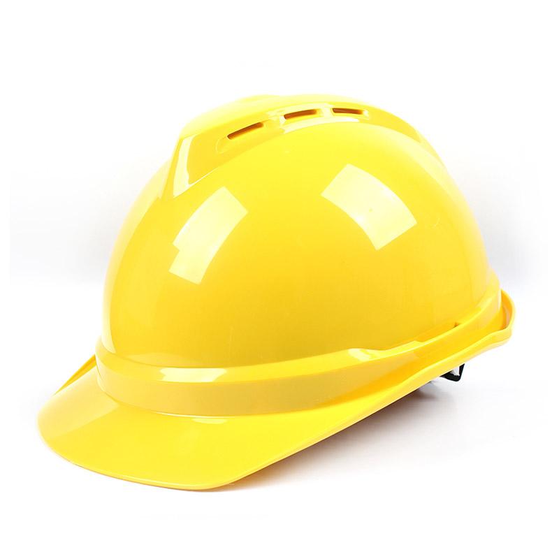 梅思安 10108993 豪华ABS白色安全帽轻旋风帽衬针织布吸汗带D型下颌带