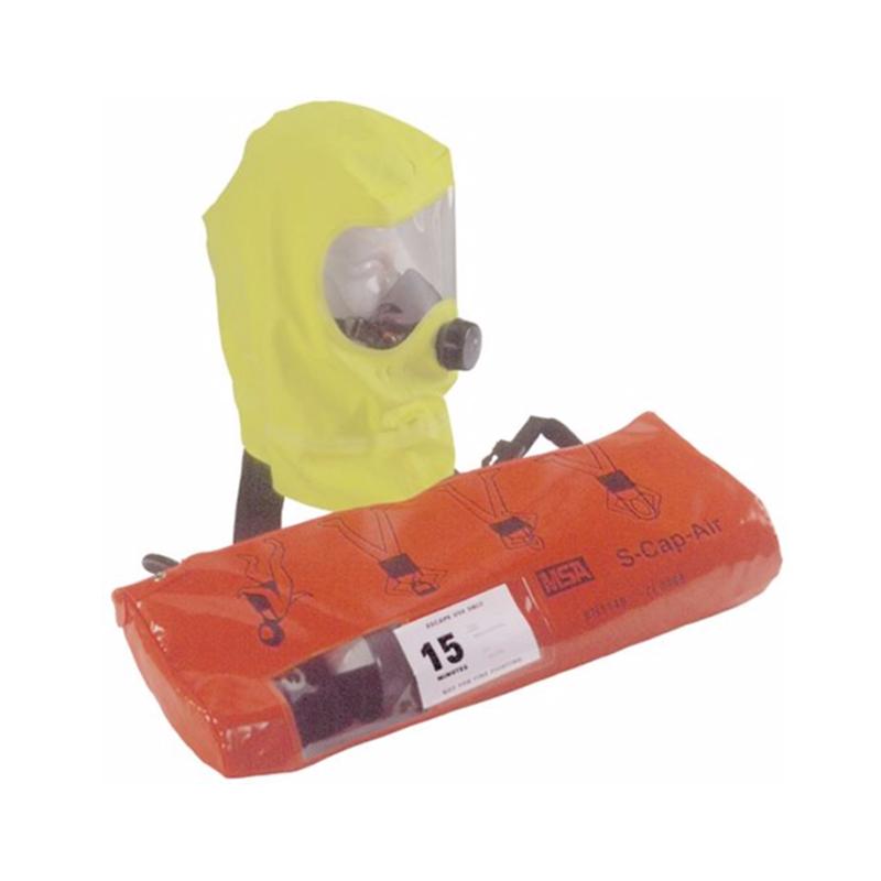 梅思安 10017668 S-Cap-Air逃生呼吸器(钢瓶)