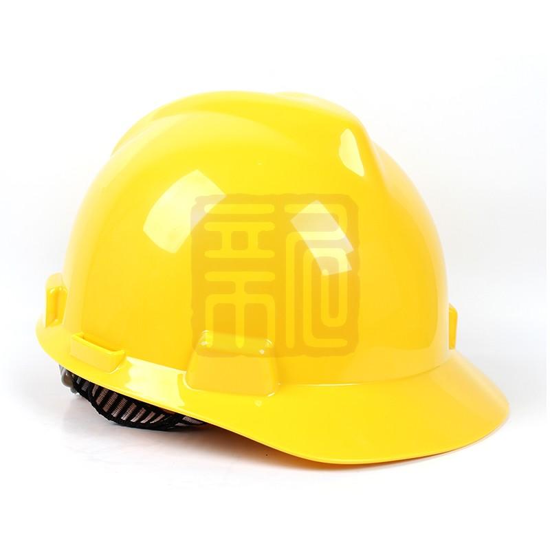 梅思安 9121318 标准型ABS白色安全帽易拉宝帽衬针织布吸汗带D型下颌带封面