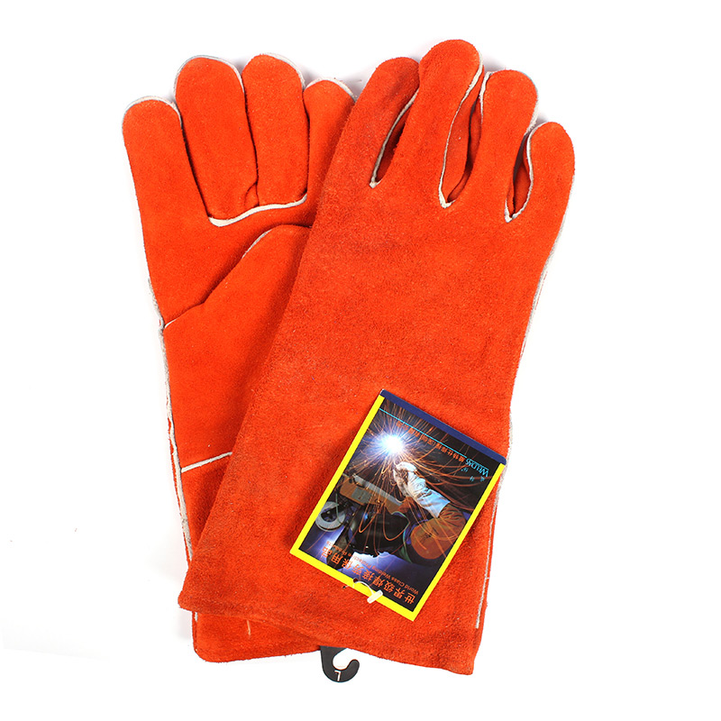 威特仕 10-0100锈橙色斜拇指款烧焊手套