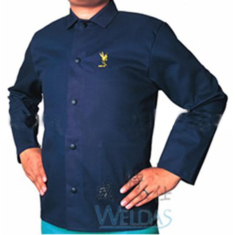 威特仕 33-8830雄蜂王海军蓝上身焊工服