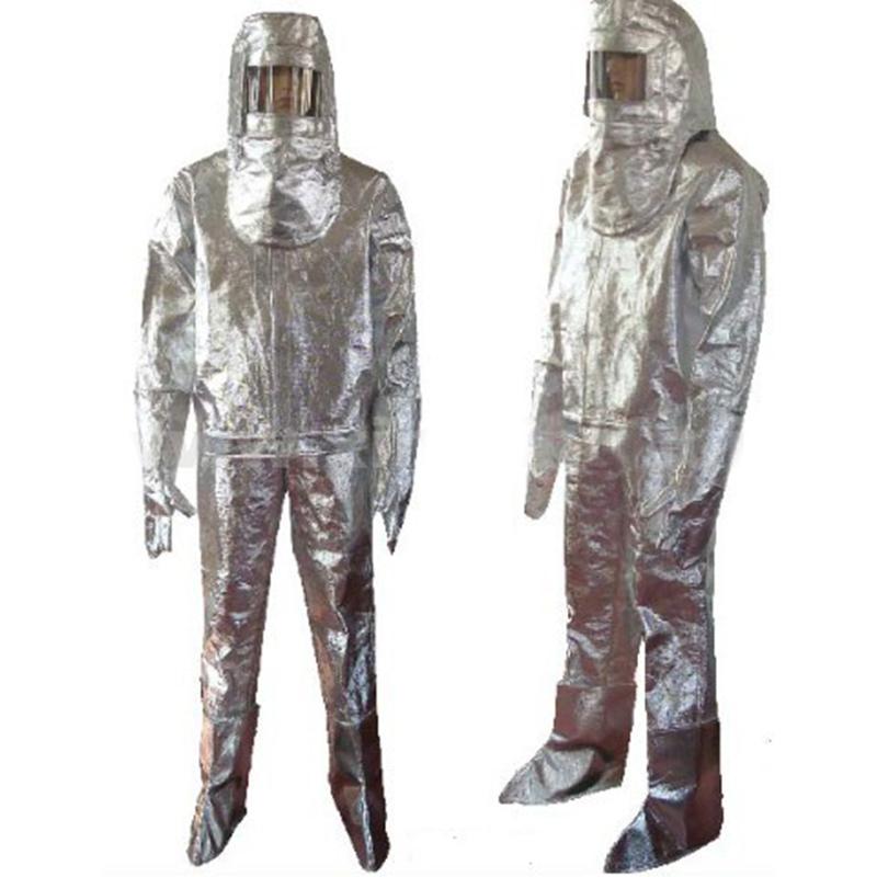 劳卫士LWS-001铝箔分体隔热服(700-1000度)