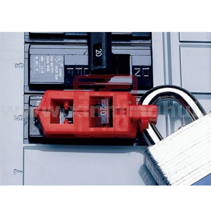 贝迪120V卡扣式断路器锁65387封面