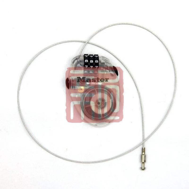 玛斯特 4603D 可调密码钢缆可伸缩密码锁封面