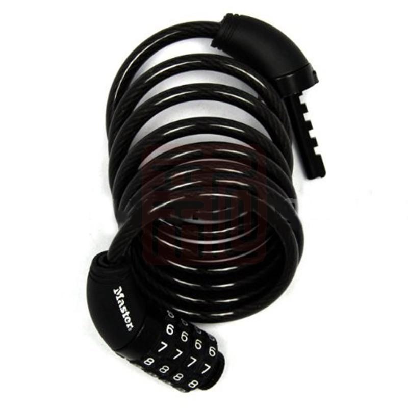 玛斯特 8114D 可调密码钢缆锁封面