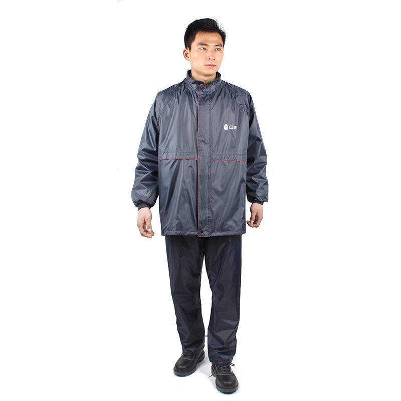 红豆 HD8504 雨衣 蓝色-L