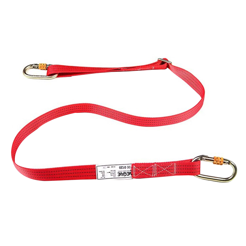 羿科60816713 可调定位安全绳(织带)(最长2M)