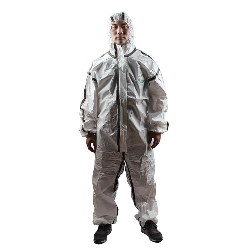 雷克兰 AMN428ETS 麦克斯胶条型医用防护服(灭菌型) M封面