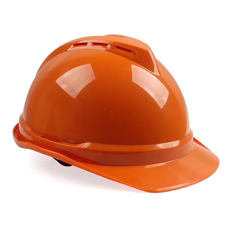 梅思安 10146671 豪华ABS白色安全帽一指键帽衬针织布吸汗带D型下颌带