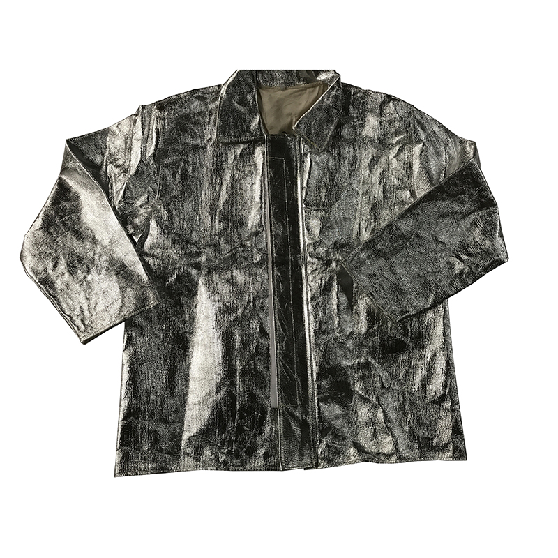 莱安LC-F01铝箔分体隔热服(1000型 头罩 上衣 裤子 手套 脚罩)