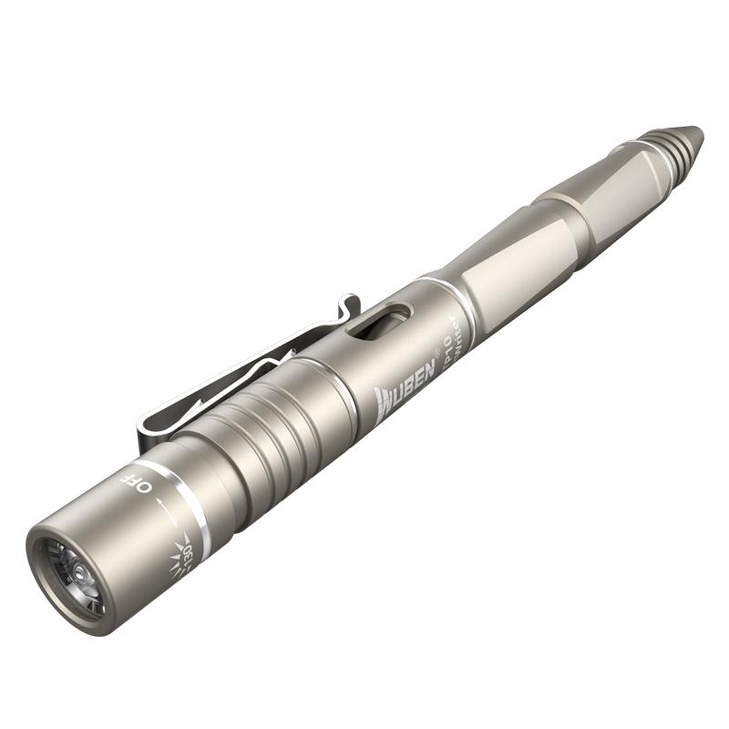 WUBEN务本 TP10香槟色 WUBEN务本TP10钨钢攻击头笔灯-130流明
