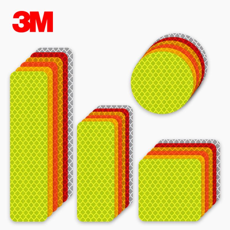 3M 钻石级万能贴-圆型钻石级红色直径5cm1套(10片)