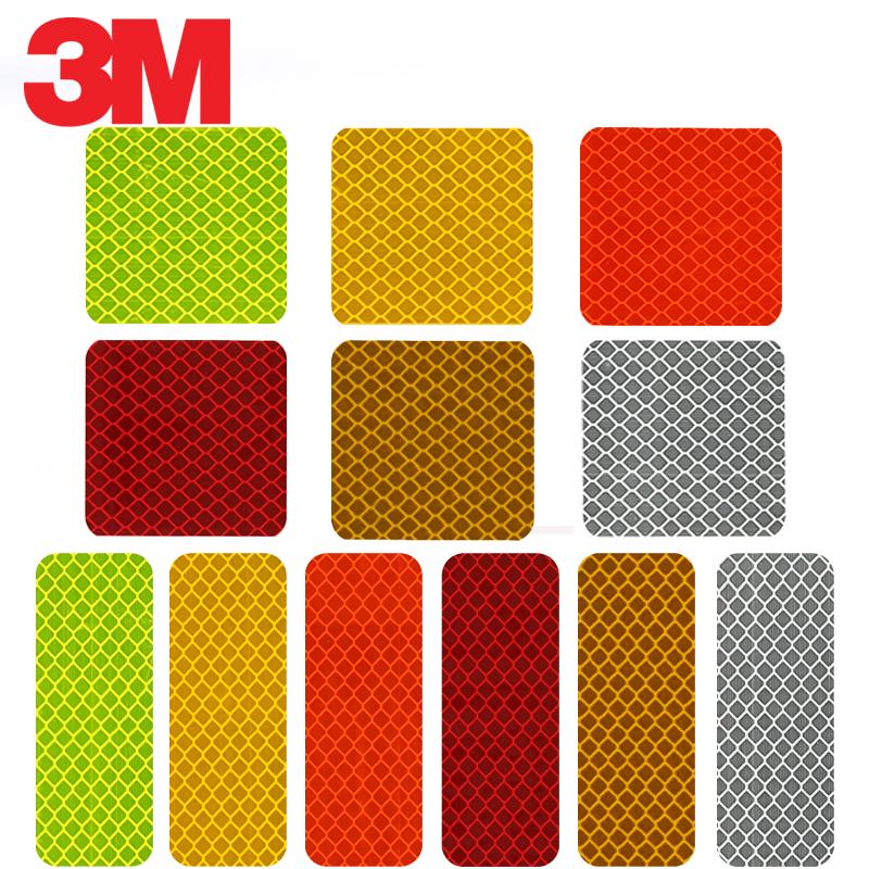 3M 钻石级万能磁力贴-长型钻石级荧光黄绿色3cm*8cm1套(10片)