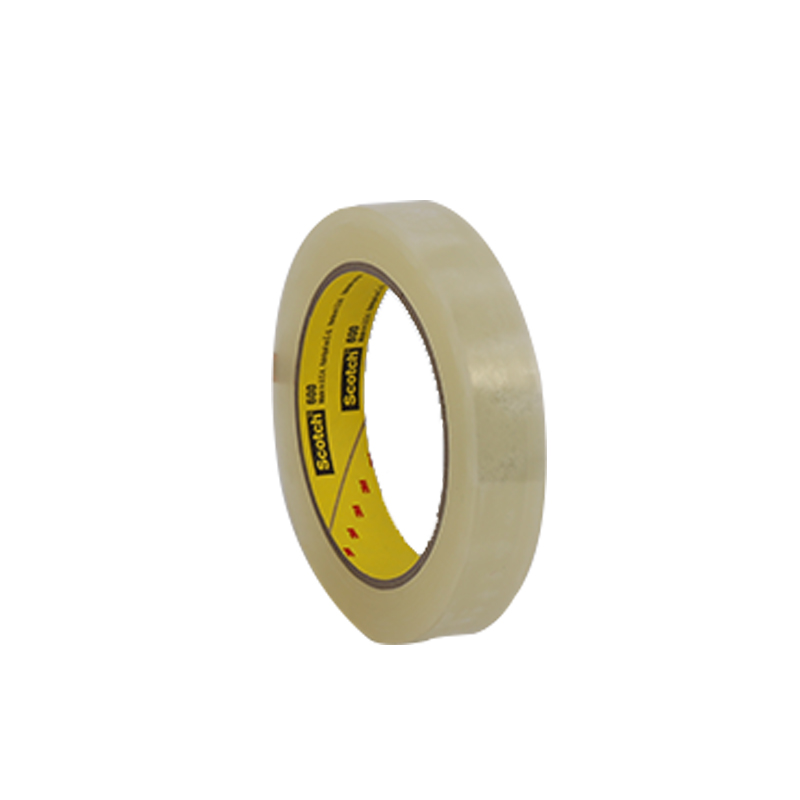 3M 600薄膜胶带 1/2英寸X72码