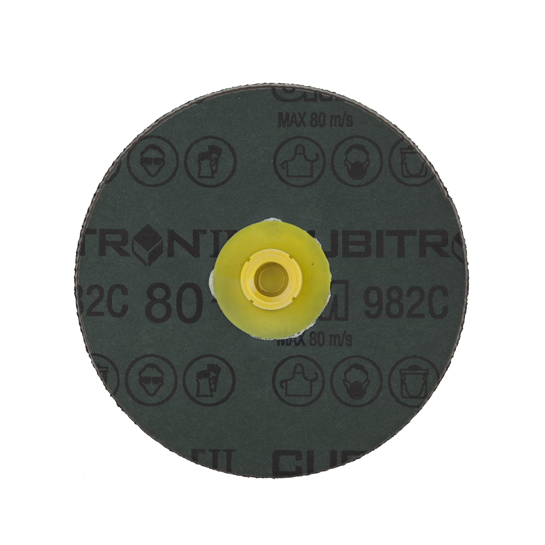 3M 80+982c纤维砂碟片(4寸圆孔)