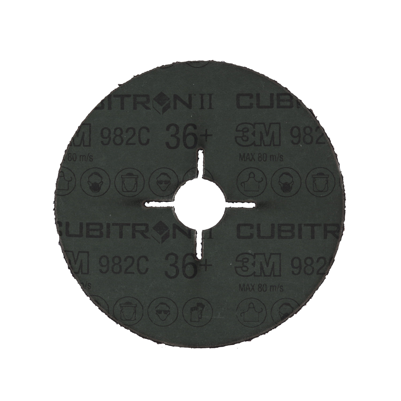 3M 36+ 3M982C 纤维砂碟 十字孔 100X16毫米*394EQ