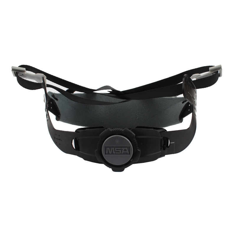 梅思安10180494超爱戴帽衬灰色针织布吸汗带尼龙顶带用于ABS 帽壳