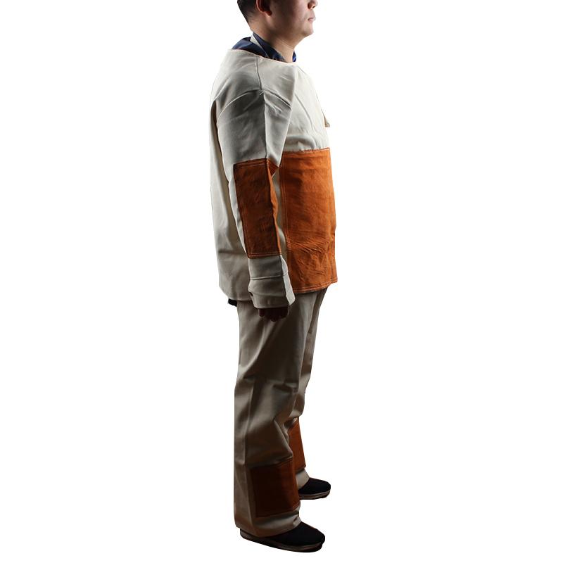 帆布加皮电焊服-大