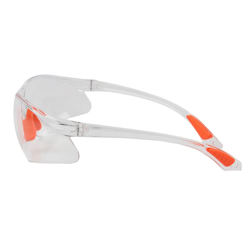 时尚流线型加强168加强防刮擦透明款护目镜