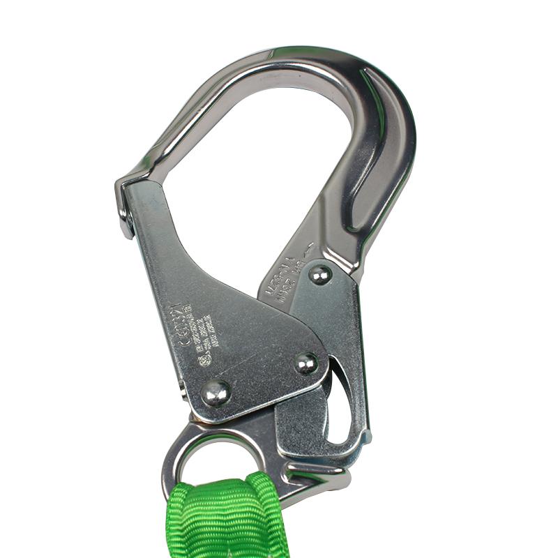霍尼韦尔231MAL-Z/6FTGN Manyardll缓冲系绳 配有铝合金抓钩和脚手架挂钩