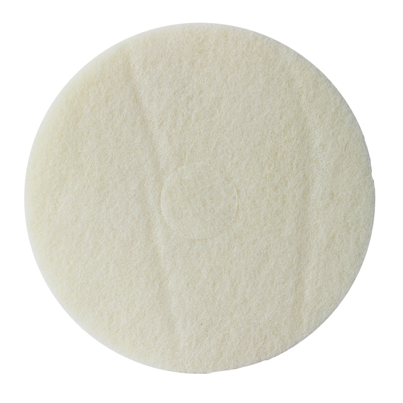 蝴蝶4100白色抛光垫 17寸