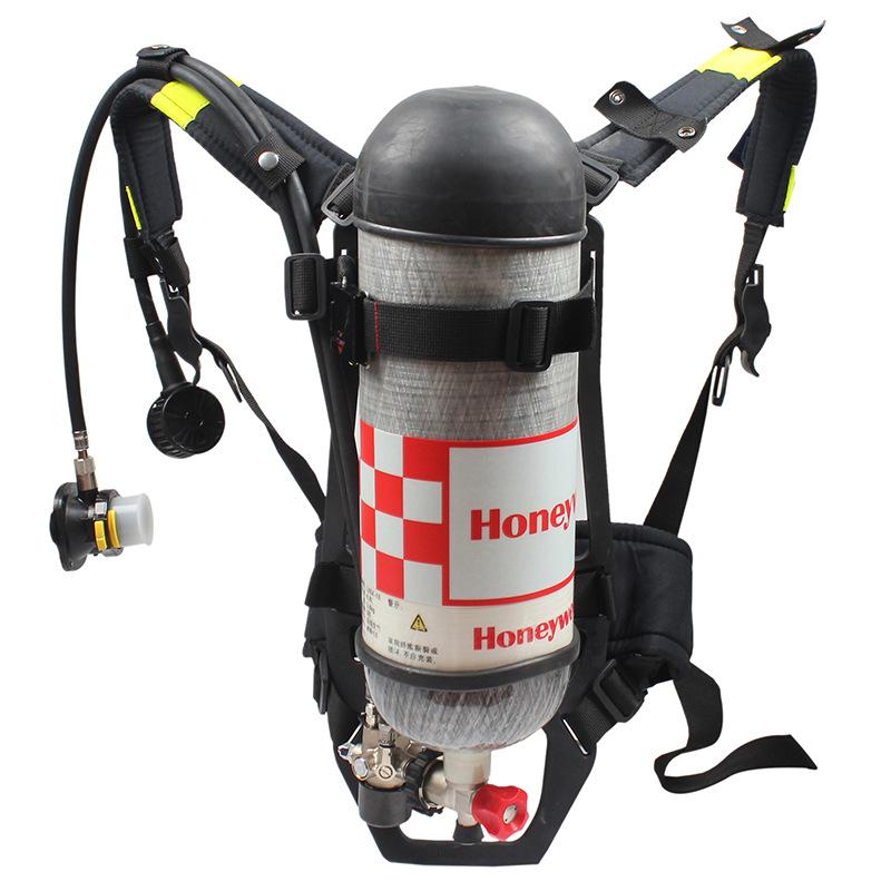 霍尼韦尔C900 SCBA123K自助式压缩空气呼吸器6.8L气瓶带表(C850 SCBA215)