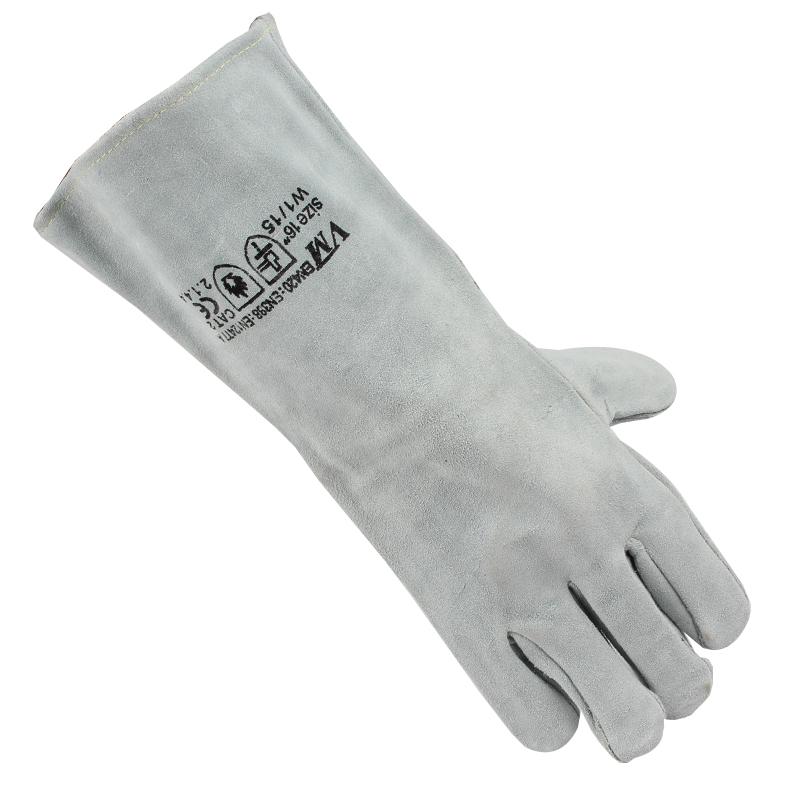 SAFEMAN君御 7231二层加厚电焊手套(加长40cm)