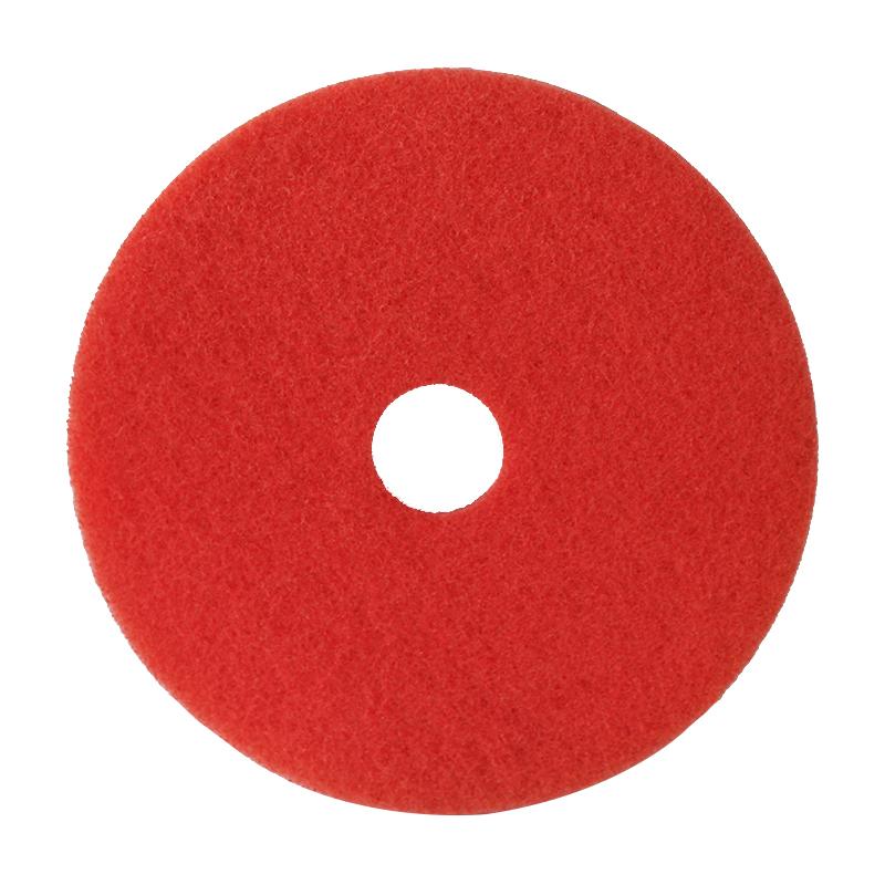 蝶碟5100红色清洁垫 14寸