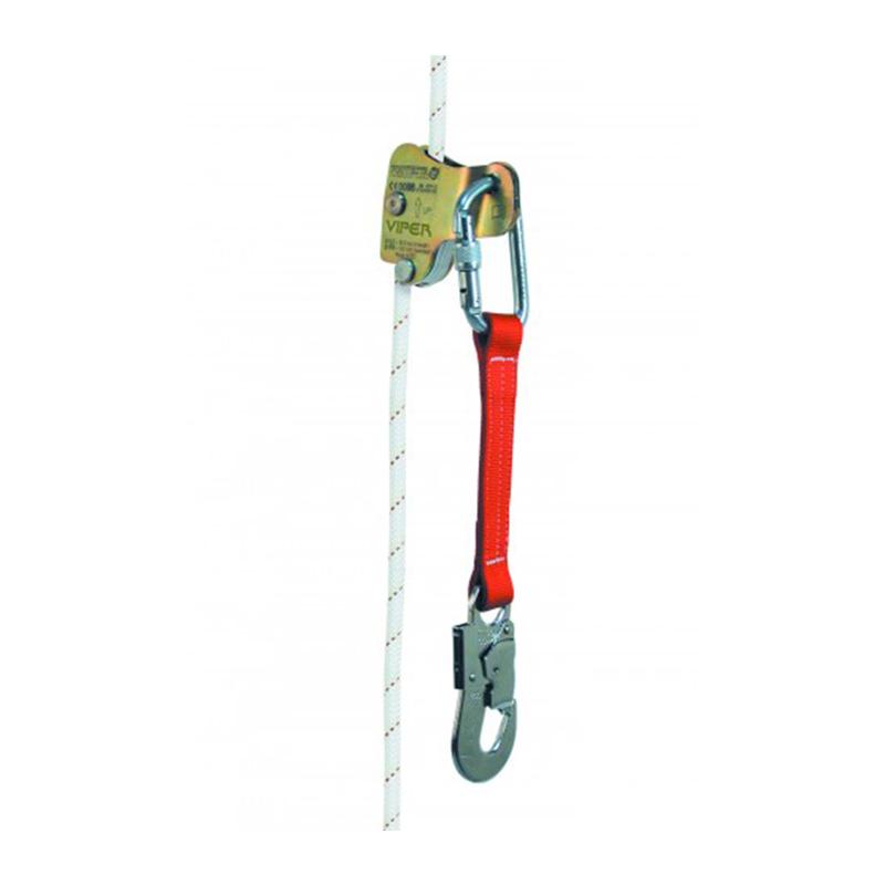 3M凯比特 AC400 VIPER自动抓绳器 带28厘米连接织带和17毫米开口安全钩 适合10.5mm直径安全绳(AC401退市)