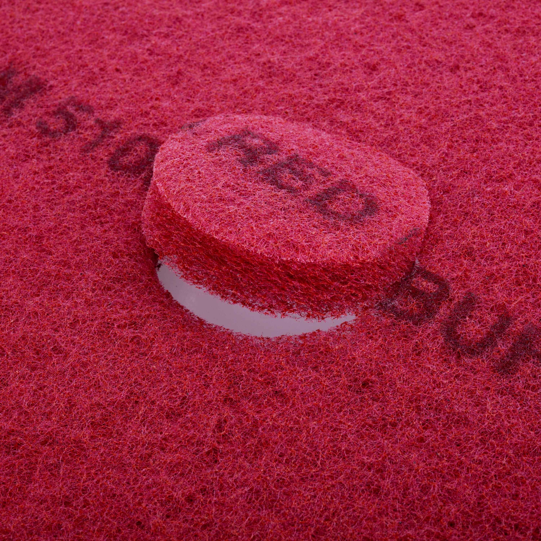 3M 5100 红色清洁垫 13英寸