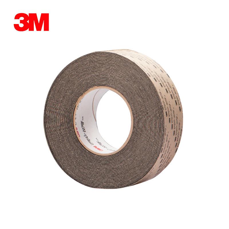 3M 610黑 一般平面用安全防滑贴 2英寸*60英尺 原装