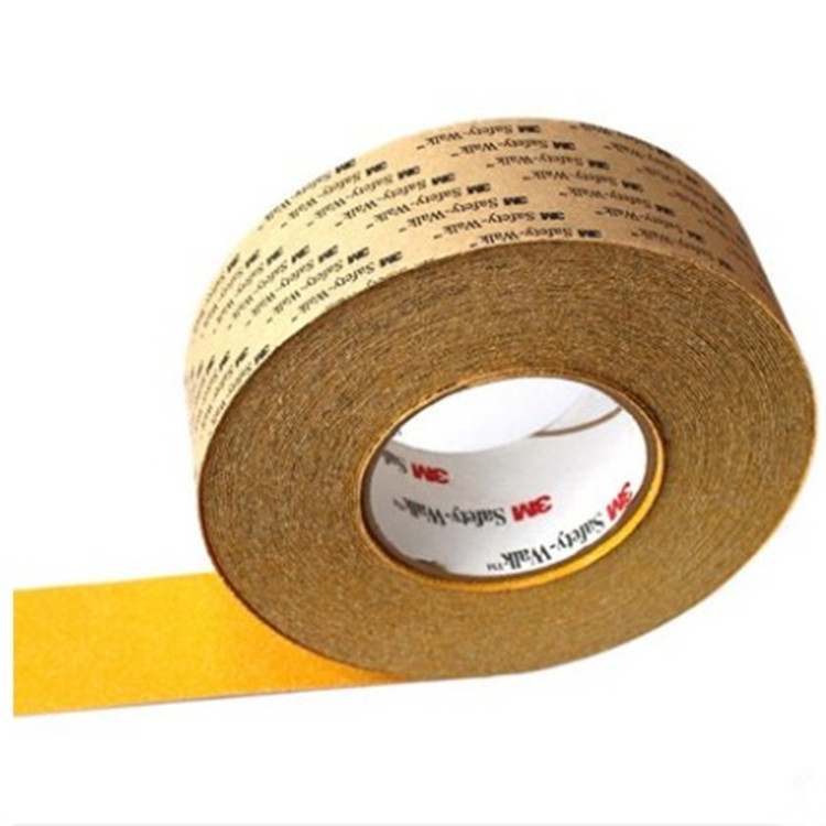 3M 630-B黄一般平面安全防滑贴 2英寸X60英尺