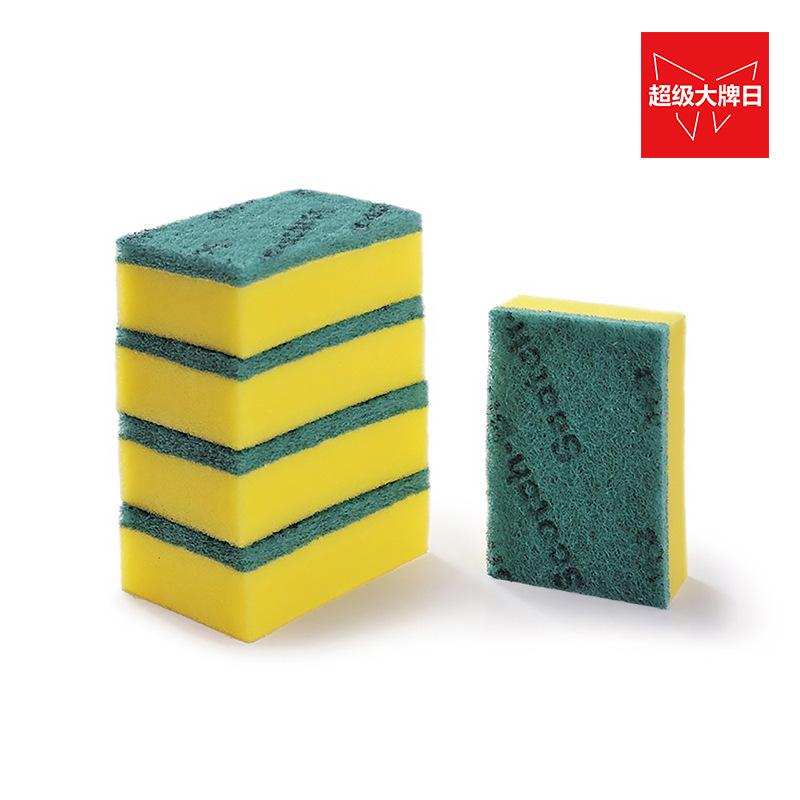 3M6215思高合宜系列一般厨具海绵百洁布5片装