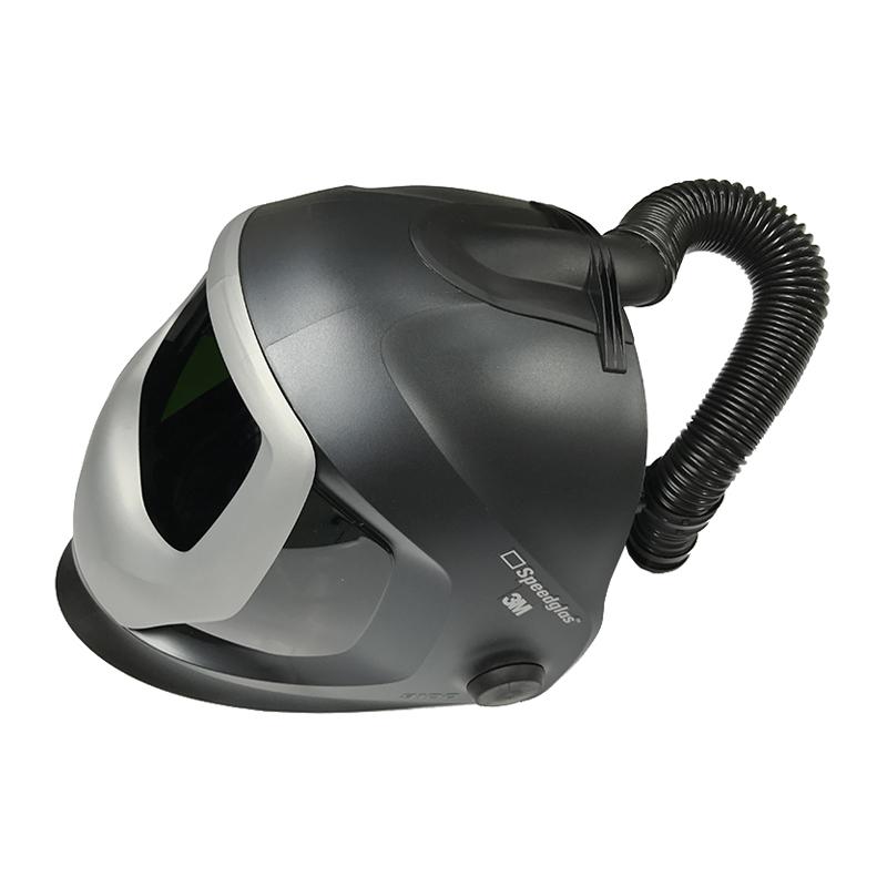 3M 9100电动送风焊接面罩帽壳及送风系统 (含9100帽壳/呼吸管/ADFLO电机/电池/充电器/颗粒物滤盒/腰带等 不含变光屏)(需搭配9100V自动变光屏使用)