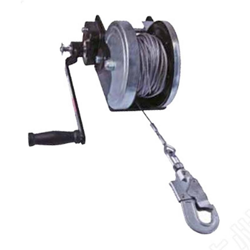 代尔塔505004 TR004手动绞盘30米
