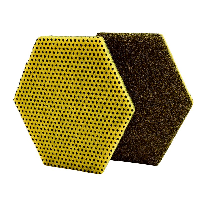 3M思高96HEX-S双功能高效百洁布-六边形 124MMX107MM