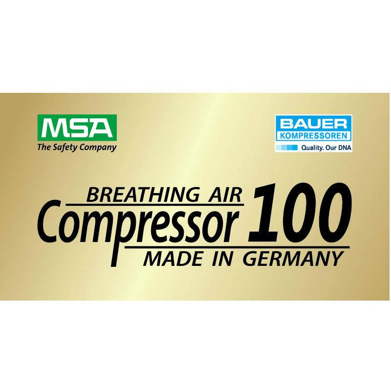 梅思安10181243 MSA 100TB 汽油机 高压呼吸空气压缩机