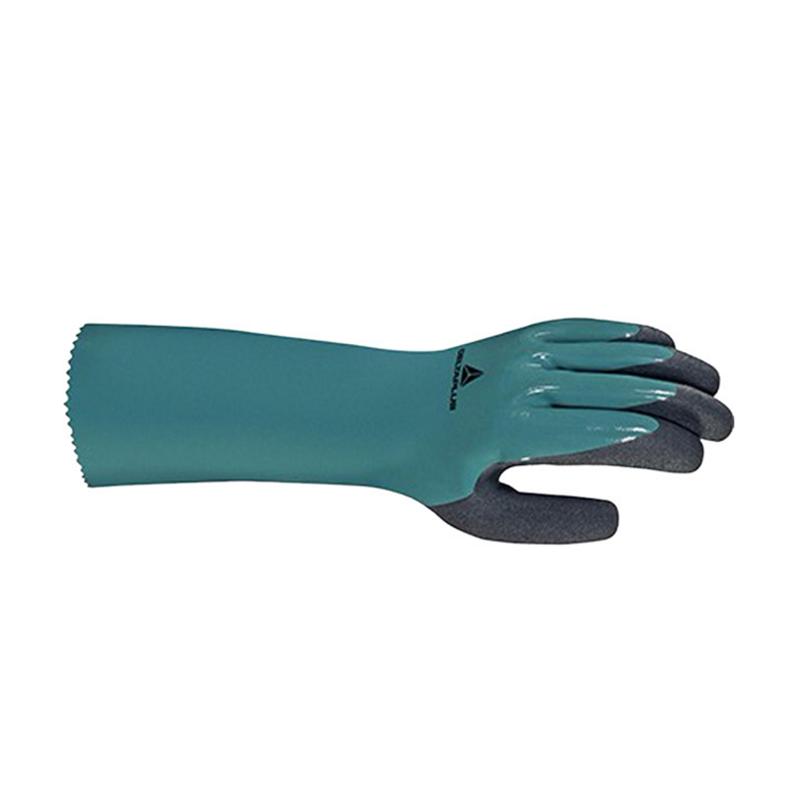 代尔塔201835 双层+掌面发泡丁腈超厚防化手套-8
