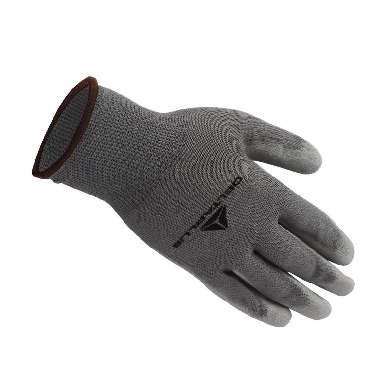 代尔塔 201705 PU涂层精细操作手套 VE702PG