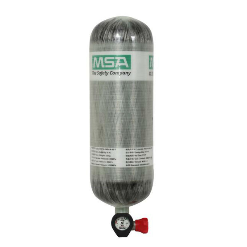 梅思安 3579164(6.8L)国产Luxfer碳纤气瓶 带瓶表