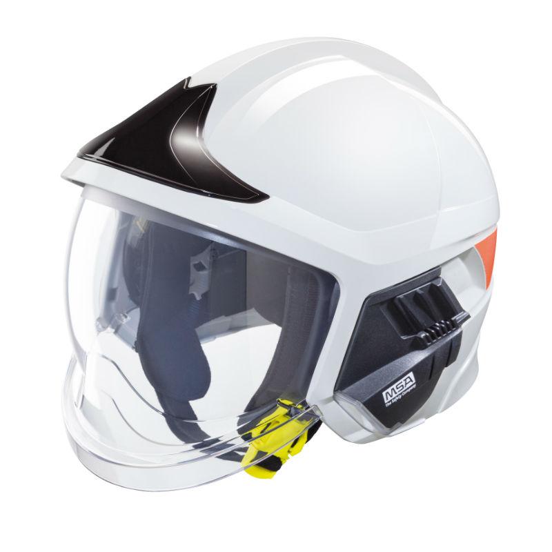 梅思安10158943 消防头盔 F1XF 大号 白色 基本款