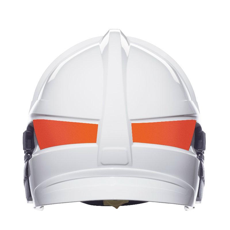 梅思安10158878 消防头盔 F1XF 大号 白色 带照明和支架