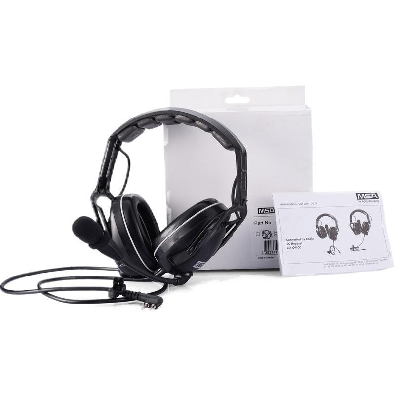 梅思安 SOR41020 有线型电子防噪音标准耳罩(头戴式)-K