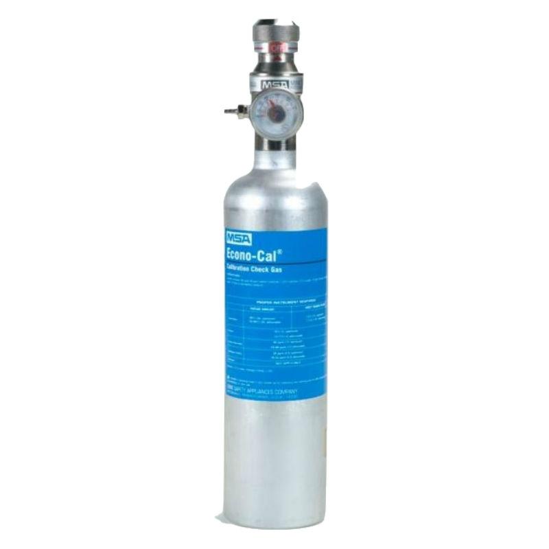 梅思安10098855 进口标气  10ppm SO2 / 20ppm H2S / 60ppm CO / 1.45%CH4 / 15%O2标定气34L